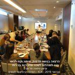 הרצאה בנושא תדמית, מיתוג וקוד לבוש כנס למנהלות לשכה ומזכירות בכירות קראון פלאזה תל אביב  המרכז הבינלאומי לכנסים - ICX - 2019 פברואר