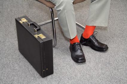 קוד לבוש לגברים, התאמת גרביים למכנסים ונעליים