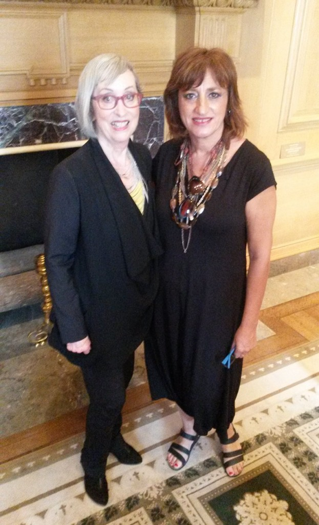 With Mrs Carla Mathis AICI CIM -2015 Washington