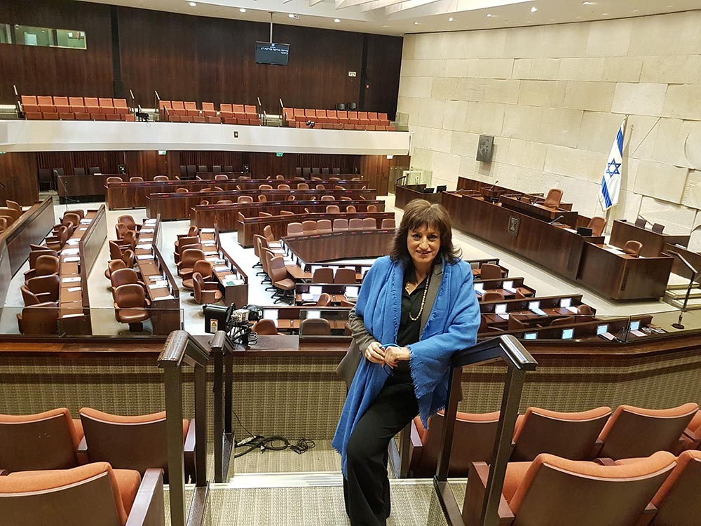 Annie Friedman- Proud to be a part of the dresscode Knesset committee.