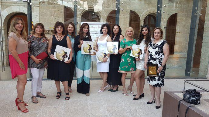 ההשקה הישראלית של עטיפת הספר של מוניקה גרג שבה השתתפו מספר נשים המשפיעות בתחומן בישראל.