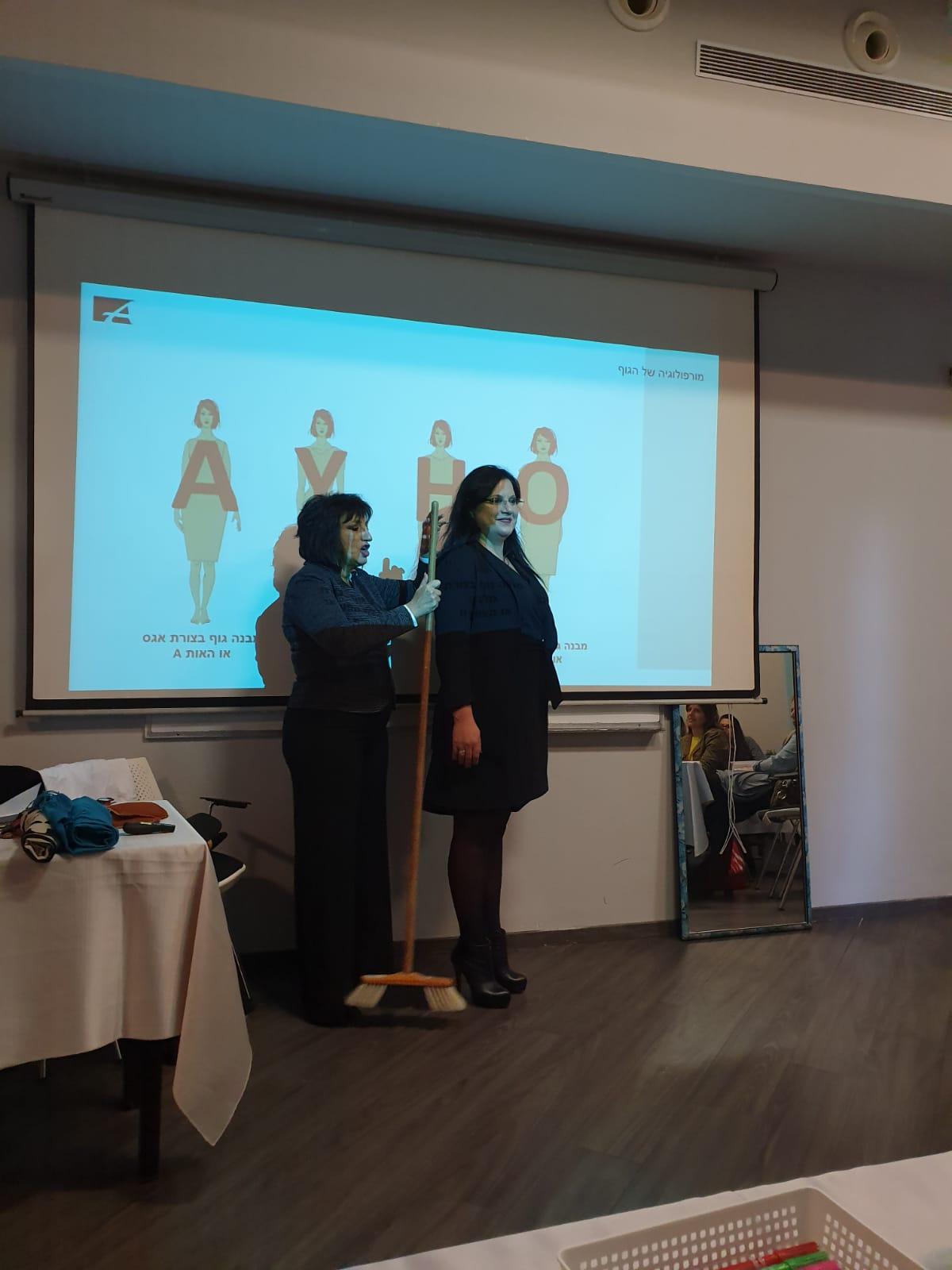 הרצאה על לבוש עסקי,תדמית עסקית,לבוש ייצוגי